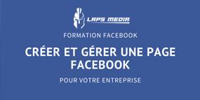 Création et gestion d'une page Facebook pour entreprise (niveau 1)